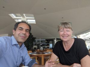 Lunch with Letteke Poncin, president of Los Rosales in Calahonda