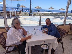 Lunch with Ruth Katz – ex president of Las Terrazas Puerto del Almendro
